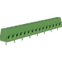 PCB Terminal Block Toonhoogte 10 mm Horizontaal 8P