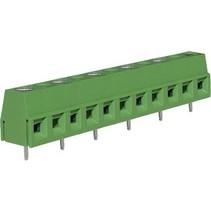 PCB Terminal Block Toonhoogte 10 mm Horizontaal 6P