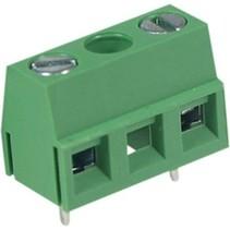 PCB Terminal Block Toonhoogte 10 mm Horizontaal 3P