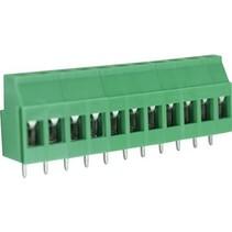 PCB Terminal Block Toonhoogte 5.08 mm Horizontaal 11P