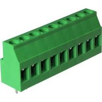 PCB Terminal Block Toonhoogte 5.08 mm Horizontaal 9P