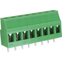 PCB Terminal Block Toonhoogte 5.08 mm Horizontaal 8P