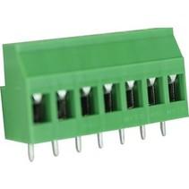 PCB Terminal Block Toonhoogte 5.08 mm Horizontaal 7P