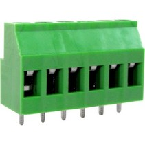 PCB Terminal Block Toonhoogte 5.08 mm Horizontaal 6P