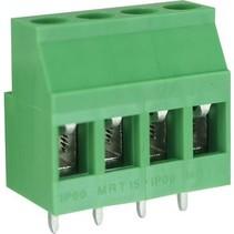 PCB Terminal Block Toonhoogte 5.08 mm Horizontaal 4P