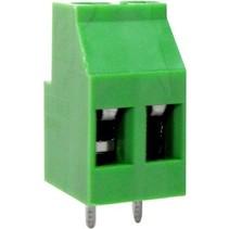 PCB Terminal Block Toonhoogte 5.08 mm Horizontaal 2P