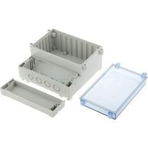 PCB Enclosure DIN rail 217 x 256 x 132.5 mm ABS / PC
