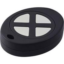 Key fob enclosure 43 x 55 x 13.4 mm Zwart ABS