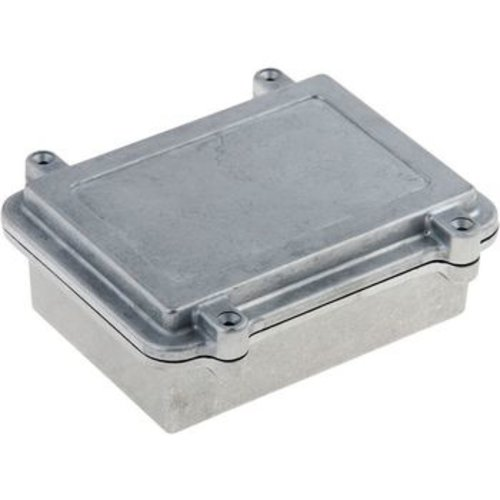 RND Components Aluminium Enclosure with EMI Protection, Aluminium, 112 x 152 x 55 mm, IP67