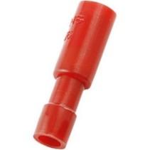 Crimp terminal socket Rood N/A PU = 100 ST