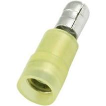 Crimp terminal, plug Geel PU = 100 ST