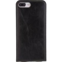 Smartphone Gelly Flip Case Apple iPhone 7 Plus Zwart