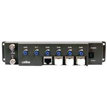 CATV Versterker 35 dB 47-862 MHz 4 Uitgangen