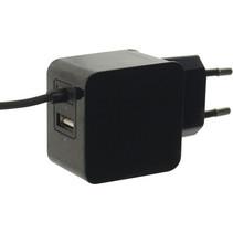 Lader 2-Uitgangen 3.1 A USB / USB-C™ Zwart