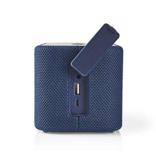 Nedis Luidspreker met Bluetooth®   2x 45 W   True Wireless Stereo (TWS)   Waterbestendig   Blauw
