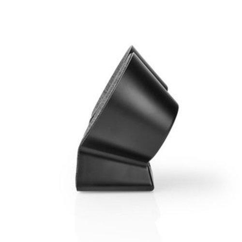 Nedis Bluetooth®-Speaker met Geweven Stof Bekleed | 2x 15 W | Tot 4 Uur Speeltijd | True Wireless Stereo (TWS) | Antraciet / Zwart