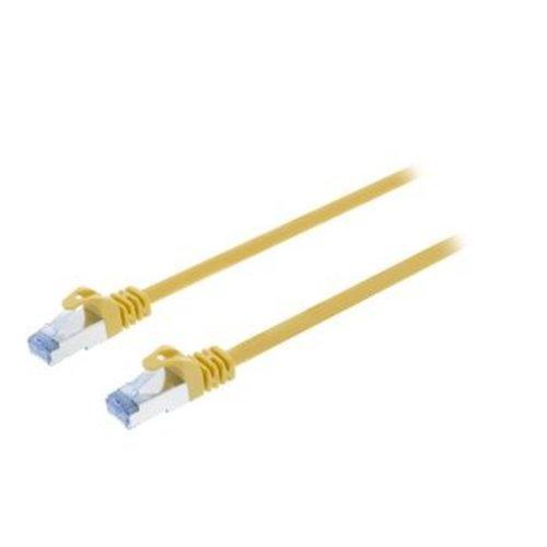 Valueline CAT6a S/FTP Netwerkkabel RJ45 (8/8) Male - RJ45 (8/8) Male 1.00 m Geel