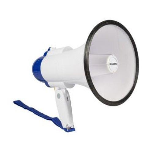Sweex Megafoon Ingebouwde Microfoon Wit/Blauw