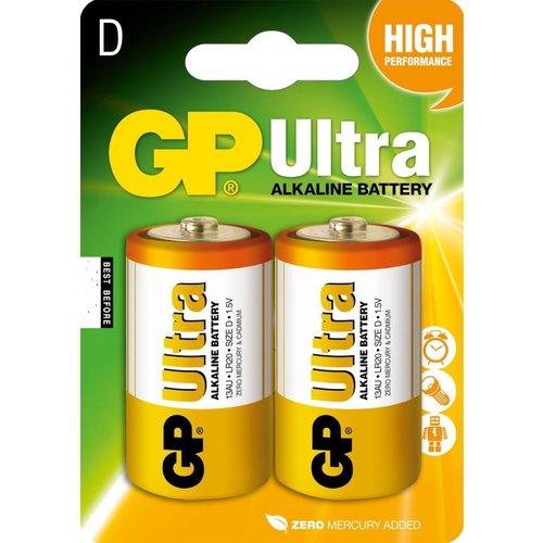 GP GP Ultra alkaline D / LR20 blister 2
