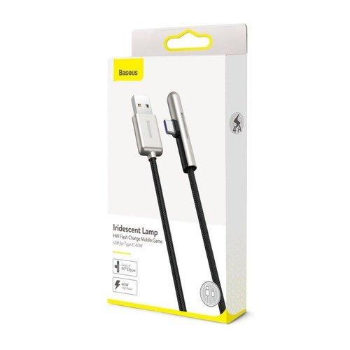 Baseus USB kabel - USB-C Haaks 100cm 4A - 40Watt