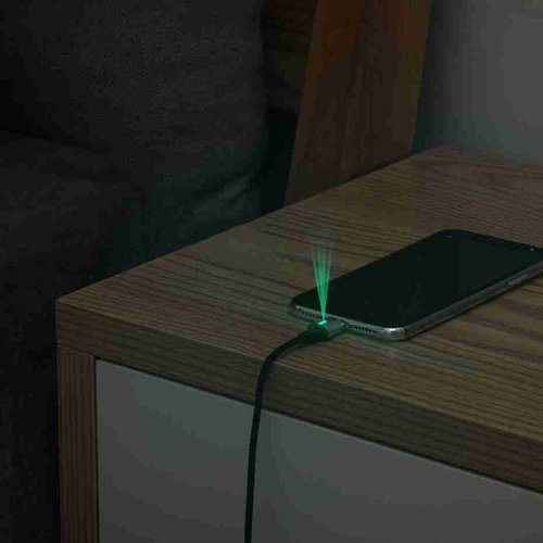 Baseus 3in 1 USB kabel USB-C,   lightning, micro-USB Magnetisch 100cm