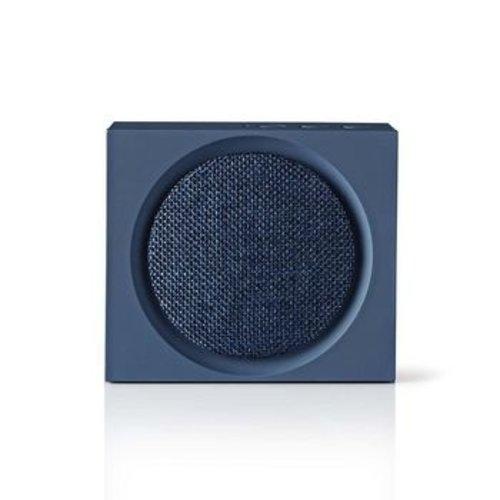 Nedis Luidspreker met Bluetooth® | 9 W | Maximaal 6 uur speelduur | Blauw