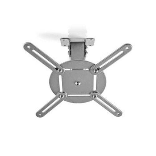 Nedis Plafondbeugel voor Projector | 360° Draaibaar | Max. 10 kg | Afstand tot de Muur van 130 mm | Grijs
