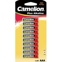 LR03 AAA batterij (mini-penlite) Plus Alkaline 10 stuks Camelion
