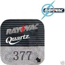 377 Horloge batterij SR626SW Rayovac