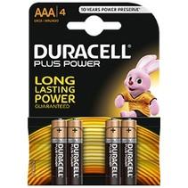 4 x AAA Mini penlite Duracell Plus Power