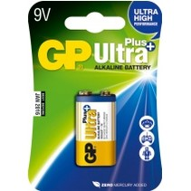 GP 9V blok Ultra Plus alkaline blister 1