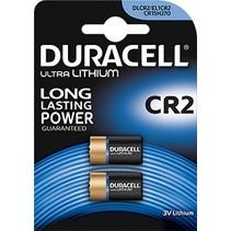 CR2 Duracell Lithium 3V DLCR2 / ELCR2 Blister 2 stuks