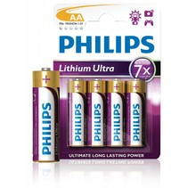 AA Penlite  Lithium Ultra blister 4 Philips