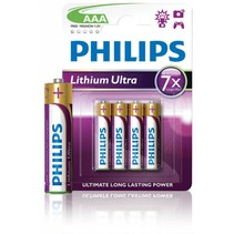 Philips AAA Lithium Ultra blister 4