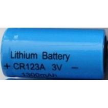 CR123 oplaadbare Li-Ion batterij 1300 mAh