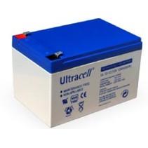 12V, 12 Ah Loodaccu 12 volt UltraCell UL12-12