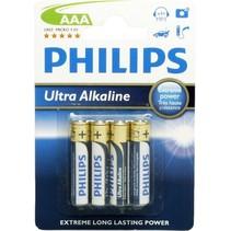 Ultra Alkaline AAA/LR03 blister 4 - Philips