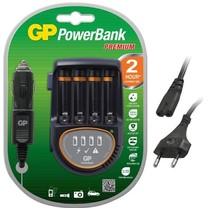 GP Powerbank H500 Lader voor 220v en auto