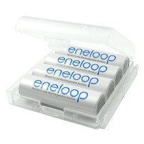 Oplaadbare AA batterijen 1900 mAh 4 stuks Eneloop Box