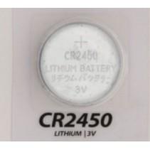 CR2450 knoopcel batterij 1 stuks
