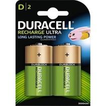 D HR20 oplaadbaar 2 stuks 3000mAh Duracell