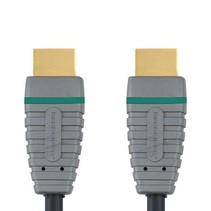 High Speed HDMI kabel met Ethernet HDMI-Connector - HDMI-Connector 1.00 m Blauw