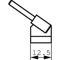 Tweezer Soldering Tip Pair 12.5 mm PU=2 ST