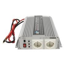 Inverter Gemodificeerde Sinusgolf 12 VDC - AC 230 V 1000 W F (CEE 7/3)
