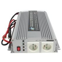 Inverter Gemodificeerde Sinusgolf 24 VDC - AC 230 V 1000 W F (CEE 7/3)