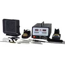 Soldeer en de-soldeerstation 100 W CH / F (CEE 7/4)