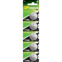 CR2450 Knoopcel 5 Stuks 3V LIithium Batterij GP
