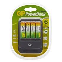 Powerbank PB570 Lader inc 4 x 2700mAH AA