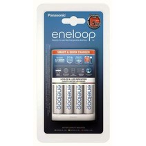 Batterijlader Eneloop BQ-CC55E + 4xAA 1900mAh