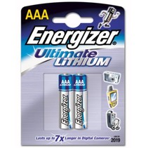 AAA Mini- Penlite Lithium FR03 - 2 Stuks Energizer